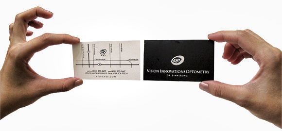 Print tiffany design vision innovation optometry business card colourmoves